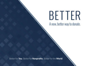 Better | A New, Better Way to Donate